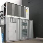 kontejnerová kompresorová stanice