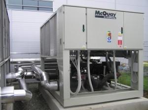 Chladící jednotky s výkonem 2x 480 kW