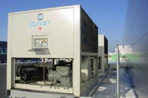 Chladící jednotky s výkonem 2x 630 kW