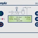 ovládací panel DELCOS PRO pro řadu kompresorů L07-L29RS