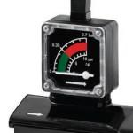diferenční manometr a beznapěťový kontakt signalizace zanesení vložky