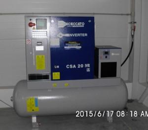 Kompresor Ceccato CSA 20-500D IVR s frekvenčním měničem