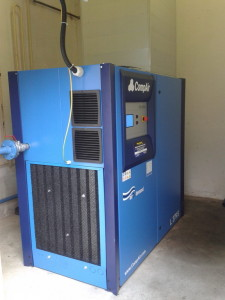 energeticky úsporný kompresor CompAir L37 RS