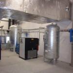 Sušič Antares, sušič CompAir, žárově zinkované vzdušníky a zdvojená filtrace stlačeného vzduchu