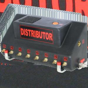 distributor-rozdělovač kondenzátu mezi 2-8 separátorů